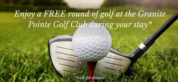 Free Round of Golf Offer
